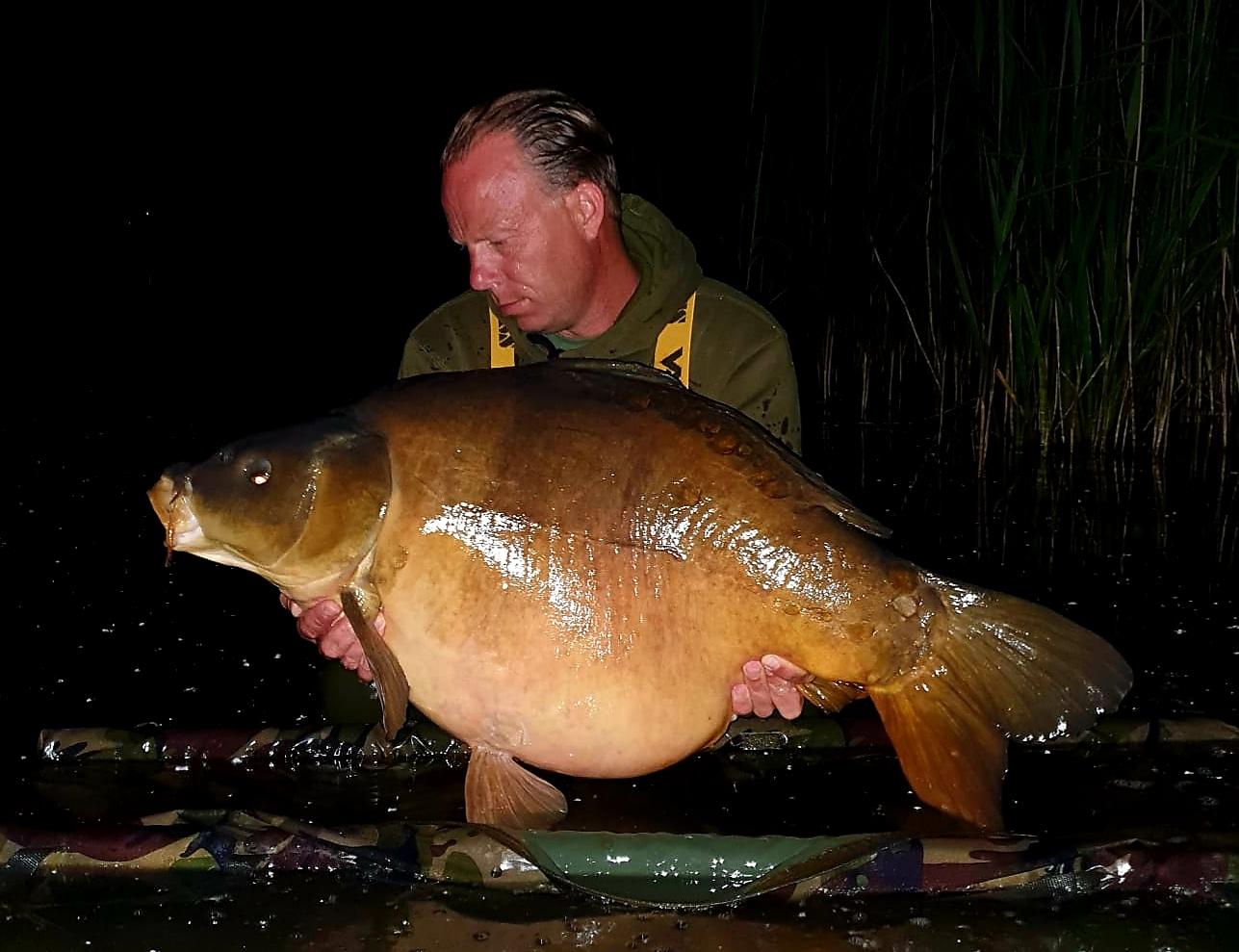 Melvin van Gelder testvisser